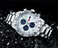 100% hochwertige sport männer mechanische automtic edelstahluhren mode stahl armbanduhr 549