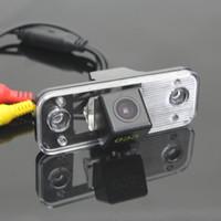 Свет номерного знака OEM / HD CCD Night Vision / камера заднего вида автомобиля / камера заднего вида для Hyundai Santa Fe