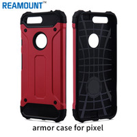 2 in 1 Hard PC + Soft Silicone Combo Armor Case for Google P...