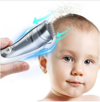 professional IPX7 washable baby hair clipper vacuum less mes...