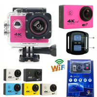 Cheapest 4K Action Camera F60R WIFI 2. 4G Remote Control Wate...