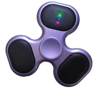 Led Bluetooth Speaker Music Fidget Spinner Bluetooth connect...