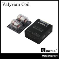 Uwell Valyrian Replacement Coil Head 0. 15ohm UN2 Meshed Coil...