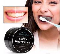 100٪ الأسنان تبييض الأسنان الطبيعية الفحم المنشط الطبيعي مسحوق تبييض إزالة البقع الدخان الشاي القهوة الأصفر رائحة الفم الكريهة العناية بالفم