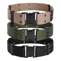 Tactical Belts Outdoor Training Hiking Sport Outdoor Belt Co...