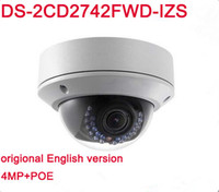 English version Hik DS- 2CD2742FWD- IZS 4MP IP Camera with WDR...