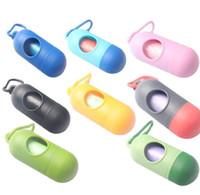 Taşınabilir Saçma Çanta Bebek Bezi Terk Çanta Kılıf Pet Çöp Poşeti Çıkarılabilir Kutu Nappy Çanta KKA2666