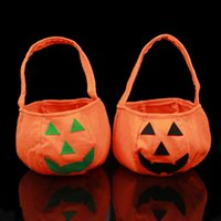 Halloween Bag Emoji Smiling Face Festival Decoration Handbag...