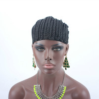 Косички Крышка для легче шить в плетеный парик шапки промежность черный цвет высокое качество гарантия быстрая доставка