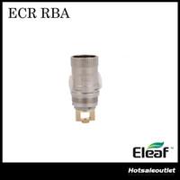 최신 원래 원래 Eleaf Ismoka Ecr Head ECR RBA 코일 Eleaf Melo 2 Ijust 2 탱크 ECR RBA 분무기 헤드