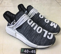 New arrive 2018 Human Race NMD Factory Real Boost black whit...