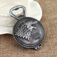 New Winter Is Coming Game Of Throne Bottle Opener Keychain H...