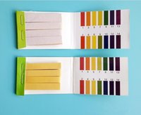 pH Full Range Acid Alkaline 1-14 tornasole Strisce Tester indicatore di pH Partable 80 strisce di carta PH Meters analizzatori