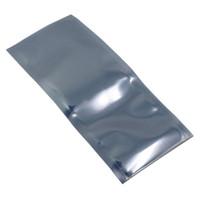 12 * 35 cm Schermatura antistatica Elettrografia Poly Poly Stoccaggio Pouch 100pcs / lot Top Open Anti Anti STATICO Chip Microelectronic Plastic Bags