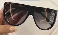 Kadınlar İnce Gölge Güneş kutu ile 41.435 Siyah / Gri Degrade Mercek Düz Top'un güneş gözlüğü Occhiali da sole Kadın Moda Güneş gözlükleri
