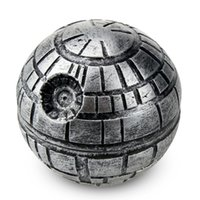 Death star tobacco grinders 2inches 3 Layers herb grinder Po...