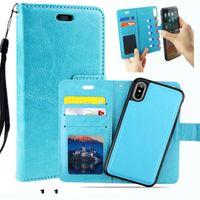 다기능 지갑 가죽 케이스 패션 다시 커버 파우치 카드 슬롯 사진 프레임 아이폰 X 8 7 6 6 초 플러스 5 Sumsung S8 플러스 Note8