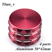 Herb Grinder 4 Piece Classic Music Tobacco Smoking Aluminum ...