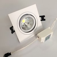 20% Big Discount COB LED Recessed Downlights dimmable led li...