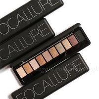 Focallure Brand Makeup Palette Natural Eye Makeup Light Ten ...