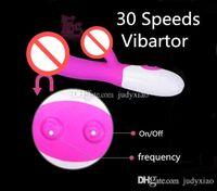 Silicone 30 Velocidades Dupla Vibração Ponto G Vibrador Vibrador Vibradores Clitóris Estimulação Masturbação Brinquedos Adultos Do Sexo Para Ela