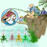 """جديد المطاط الضفدع لينة الصيد السحر باس crankbait معالجة 9 سنتيمتر / 3.54 """""""