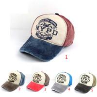 43b631824 Nypd marca quente equipado chapéu boné de beisebol casual esportes ao ar  livre snapback chapéus cap