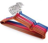 Новая вешалка для одежды с канавкой, нано-металлическая вешалка, вешалка для скольжения, вешалка для сухой и влажной одежды, прямые продажи с завода