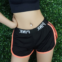 5 Colors LOVE Pink Sports Shorts Sporting Running Yoga Trunk...