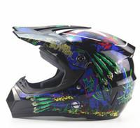 Caschi moto moda Off Road Caschi ATV Dirt Bike Downhill MTB DH Racing Casco Cross Casco di accessori moto