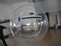 Bola de passeio da água clara inflável dos inflativos dos balões de água da inflação da água