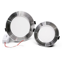 Dimmable Super Slim 10W 15W 20W Led Downlights de techo Empotrado Panel de luces 160 Ángulo Led Down Down AC 110-240V CE UL SAA