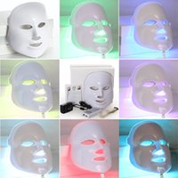 3Color 7 Color LED light photon Therapy facial mask Microcur...