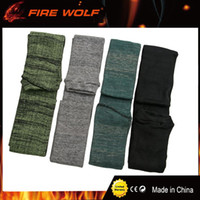 "FIRE WOLF Air Gun Sock 54"" 100% Polyester Silicone Trea..."