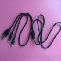 CARGER DT CABLE USB TRANSFERENCIA 2IN1 CARGA PARA SONY PSP PC 2000 3000 Slim Shipping 1000 Datos gratis para iqlms