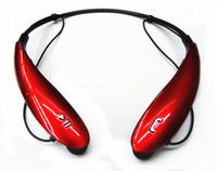 100 ADET marka yeni HBS-800 HBS800 Ton Stereo Kablosuz Bluetooth Kulaklık kulaklık Boyun Bandı Kulaklık iphone 5 6 artı Samsung s5 s6 s4 LG