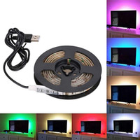 DC 5V USB Power Supply Decor RGB LED Strip light lamp Tape S...