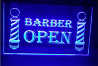 парикмахерская открыта продажа светодиодов знак неонового света домашнего декора ремесла