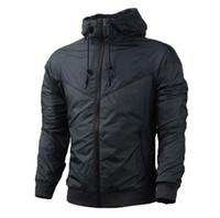 Erkekler Bahar Sonbahar Windrunnersh Ceket Ince Ceket Kaban, Erkekler Ve Kadınlar Spor Rüzgarlık Ceket Patlama Siyah Modeller Çift Clothin Erkekler