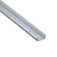 10 X 1M sistemas / porción de extrusión tipo AL6063 T de aluminio para las luces de tira llevadas y perfiles de canal de aluminio para techo o la pared lámparas