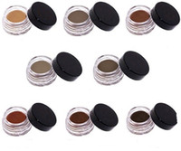 Hot Wholesale Brand New Cosmetics Eye Brow Gel 8 Colors Brow...