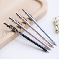 Metallqualität automatische Bleistift Drehbleistift Vollmetall dünne Stange automatische Stift 0,5 mm