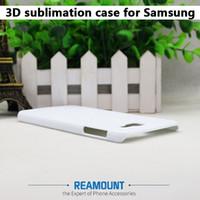 Samsung A5 A7 A8 A8 A9ヒートプレス携帯電話カバーケースのための3Dホワイトマットと滑らかな昇華ケース