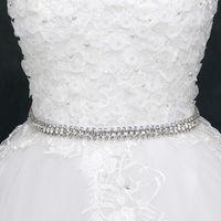 Superbes ceintures de mariage longues cashes de mariée Accessoires de mariage Courroies de mariage scintillantes Courroie de robe 270cm 270cm