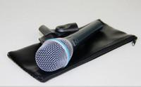 Qualidade superior Beta87A Microfone Vocal de Karaokê Beta 87A 87 A Mike Com Som Claro Brilhante!