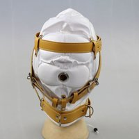 Bondage Sex Hood Face Head Mask Sexual Party BDSM Gear Adult...