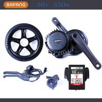 36v 350w 8fun / bafang 모터 BBS01 최신 컨트롤러 크랭크 모터 전기 자전거 Trike Ebike 키트 새로운 디스플레이