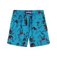 Top Quality New Arrivais Homens Casual Beach Shorts Engraçado Impressão Triângulo Blocos de cor Linda Calças curtas 3D Shorts