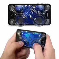 Mobile Joystick Game Dual-stick Control Analog Joysticks Game Tool Mobile Pour Smartphone Gaming Pad Touch Avec Package De Vente au détail