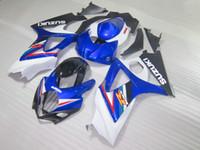 Мотоцикл обтекатель комплект для Suzuki GSXR1000 07 08 синий белый черный кузов обтекатели комплект GSXR1000 2007 2008 OT39